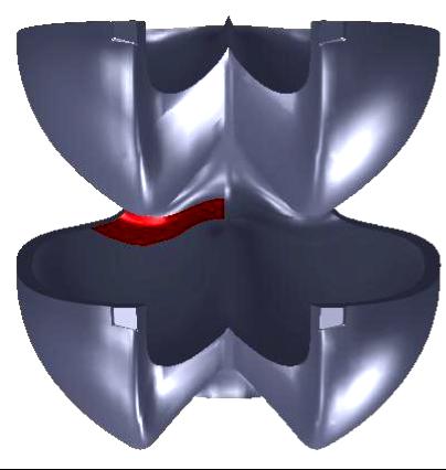 Estimación de esfuerzos y factores de seguridad en el cuello de un cangilón de una turbina Pelton