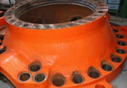 Reparación mediante soldadura de válvula esférica utilizada en una central hidroeléctrica